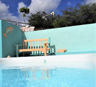 zwembad pool amazing view bungalows