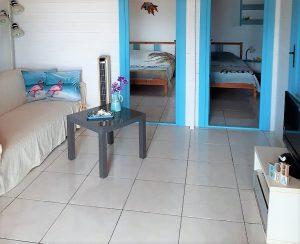 Knusse zithoek 2 slaapkamer bungalow