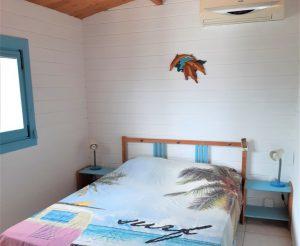Slaapkamer 1 met airco