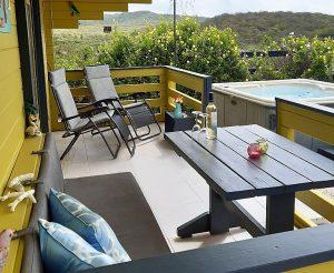 Loungebank en relaxstoelen